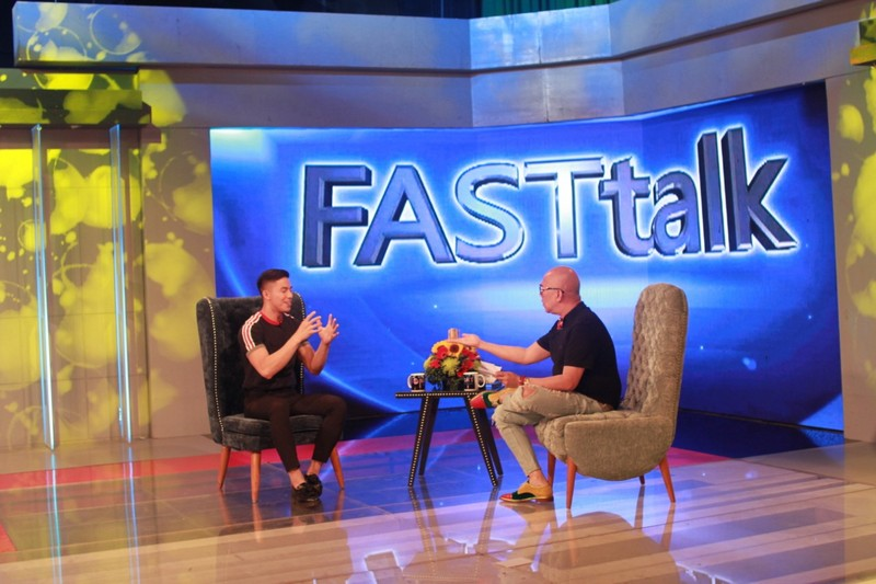 PHOTOS: Tony Labrusca on Tonight With Boy Abunda