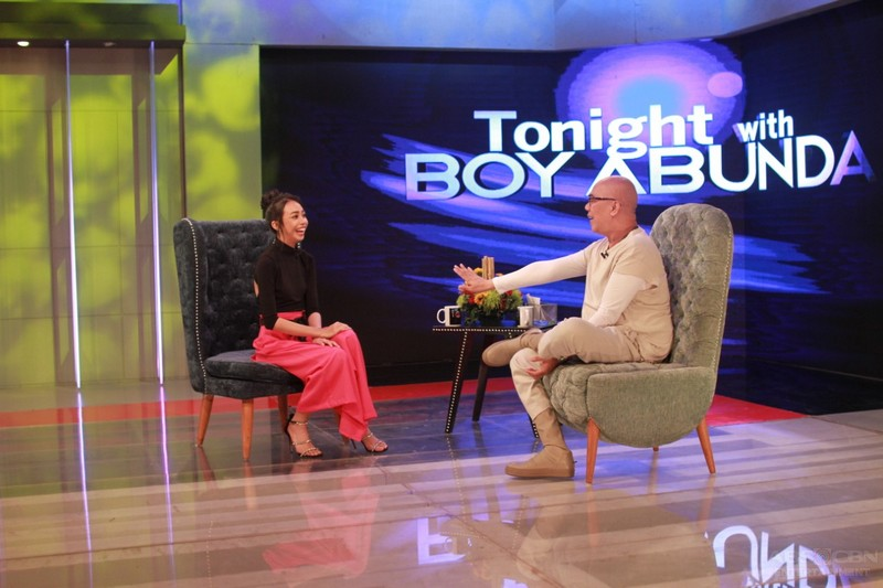 PHOTOS: Maymay Entrata on Tonight With Boy Abunda