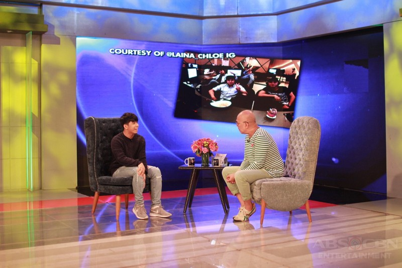 PHOTOS: Nash Aguas on Tonight With Boy Abunda