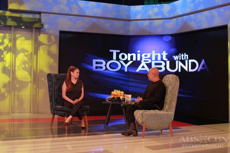 PHOTOS: K Brosas on Tonight With Boy Abunda
