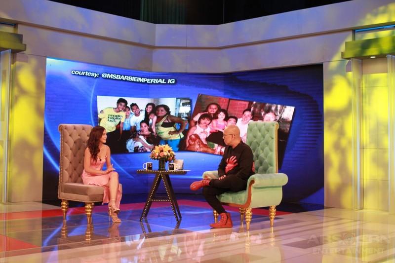 PHOTOS: Barbie Imperial on Tonight With Boy Abunda