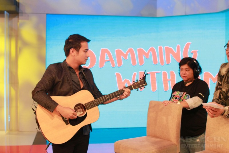 PHOTOS: JM De Guzman on Tonight With Boy Abunda