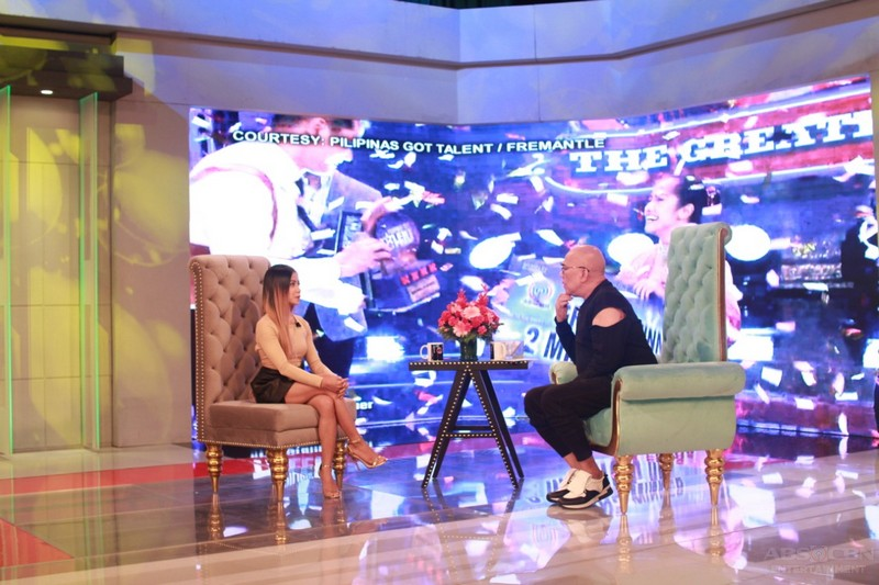 PHOTOS: Kristel De Catalina on Tonight With Boy Abunda