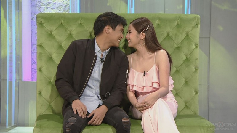 PHOTOS: Paulo Angeles and Ysabel Ortega on Tonight With Boy Abunda