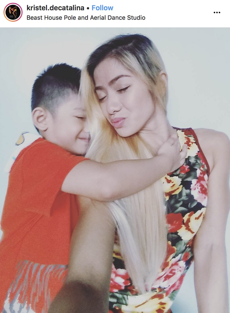 48 photos of Kristel de Catalina with the boy who stole her heart