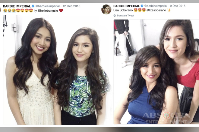Fan noon, leading lady ngayon! 11 Times Barbie Imperial 'fangirled' over other celebrities!