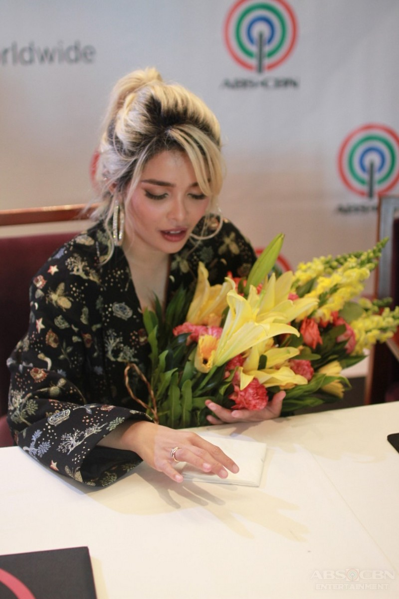 LOOK: KZ Tandingan signs exclusive contract with ABS-CBN