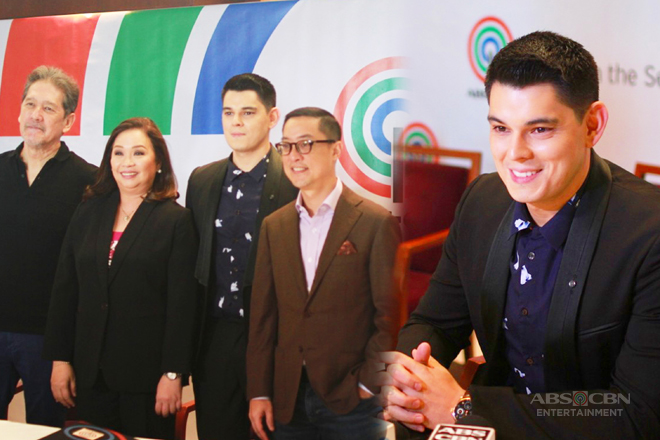 IN PHOTOS: Richard Gutierrez is now part of Star Magic family!