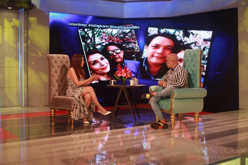 PHOTOS: Zsa Zsa Padilla on Tonight With Boy Abunda