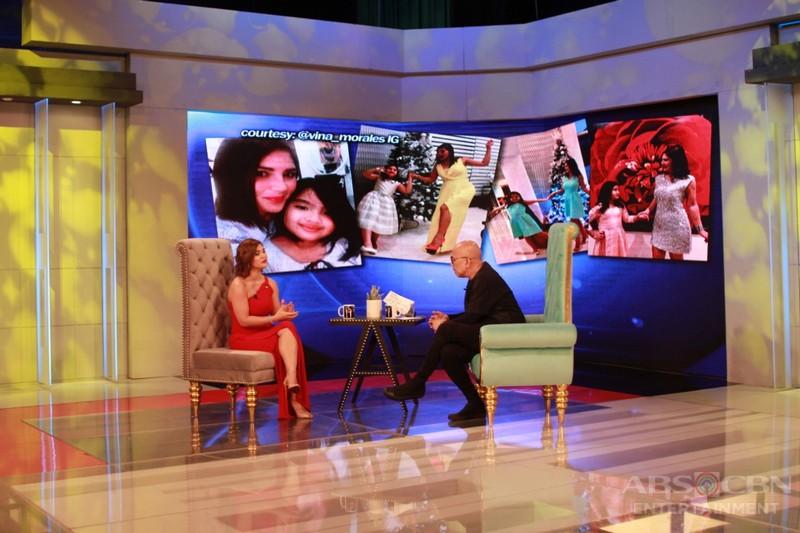 PHOTOS: Vina Morales on Tonight With Boy Abunda