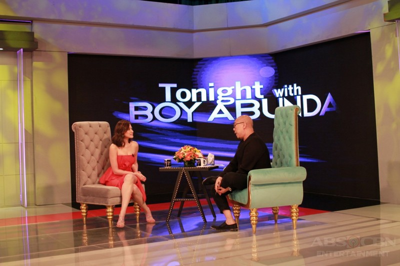 PHOTOS: Bea Alonzo on Tonight With Boy Abunda