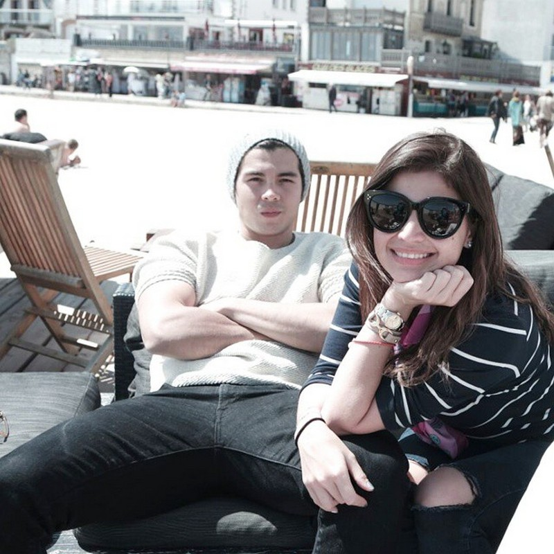 """'The calm to my crazy' 35 Sweet photos of Anne Curtis with her """"mon amour"""""""