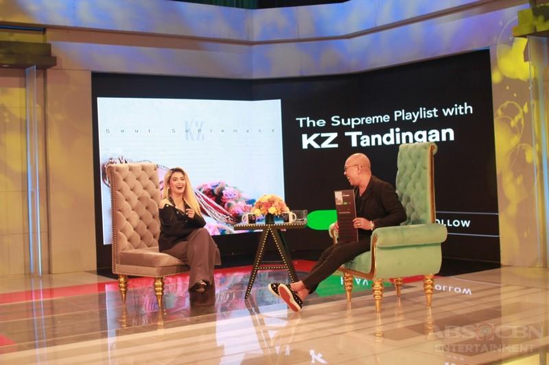 PHOTOS: KZ Tandingan on Tonight With Boy Abunda