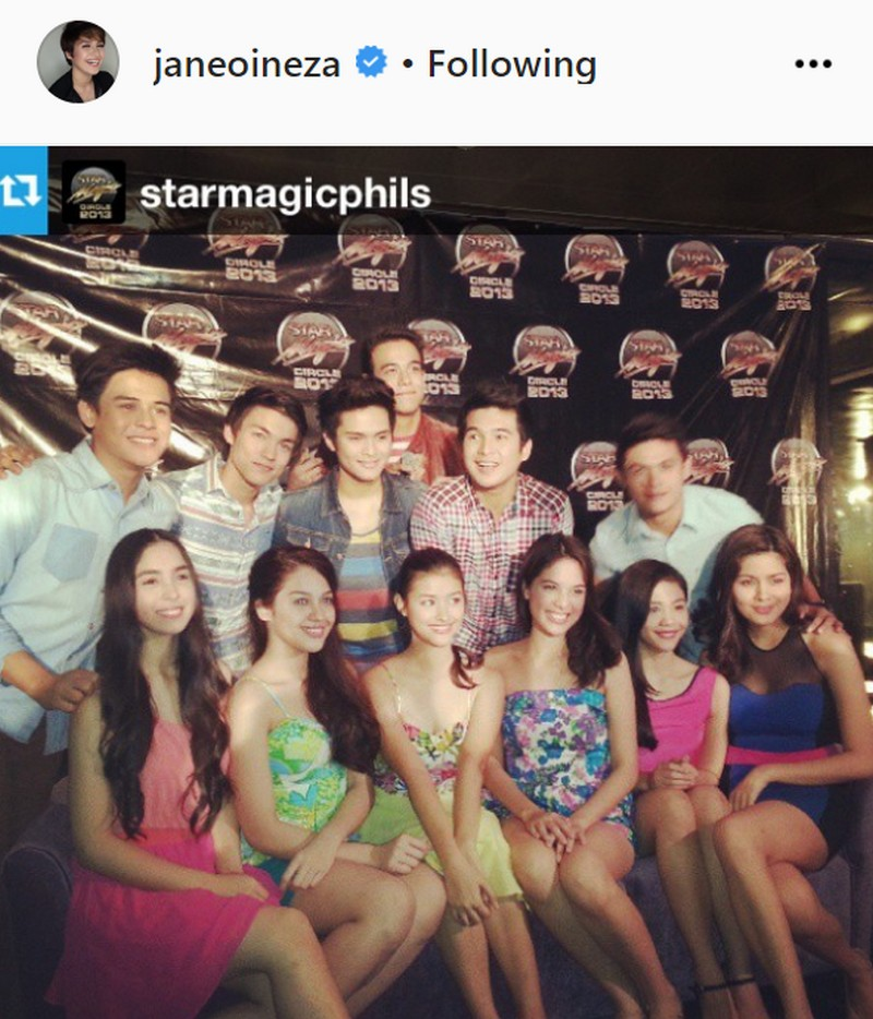 THROWBACK: 33 Photos of Jane Oineza with her Star Magic batchmates