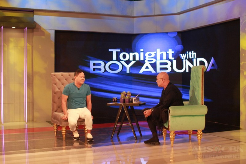 PHOTOS: Bayani Agbayani on Tonight With Boy Abunda