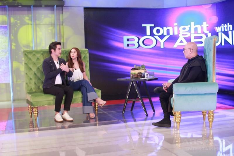 PHOTOS: Joshua Garcia and Julia Barretto on Tonight With Boy Abunda