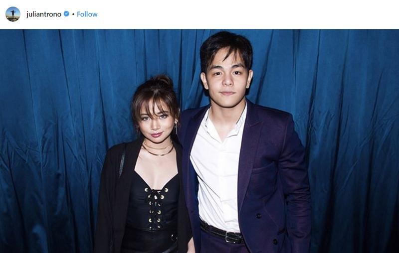 From reel to real: Ilan sa mga nakakakilig na larawan nina Ella Cruz at Julian Trono!