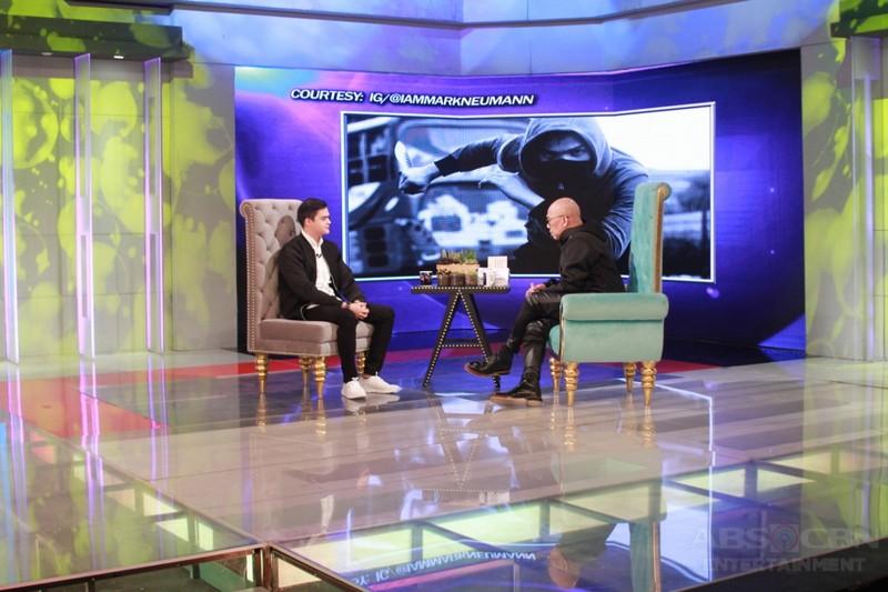PHOTOS: Mark Neumann on Tonight With Boy Abunda