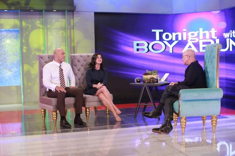 PHOTOS: Anne Curtis and Brandon Vera on Tonight With Boy Abunda