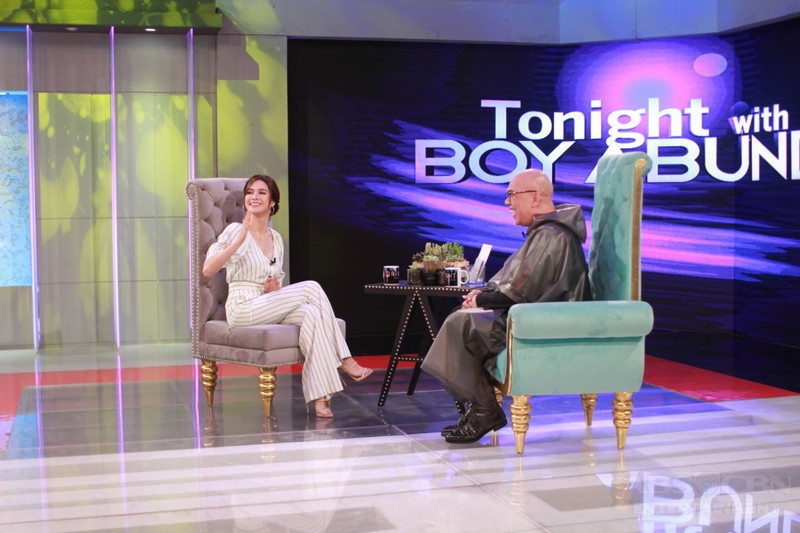 PHOTOS: Erich Gonzales on Tonight With Boy Abunda