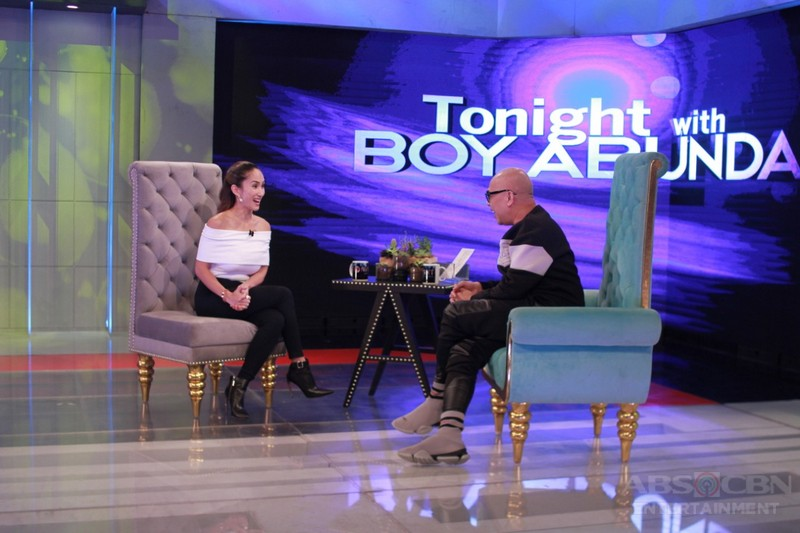 PHOTOS: Ina Raymundo on Tonight With Boy Abunda