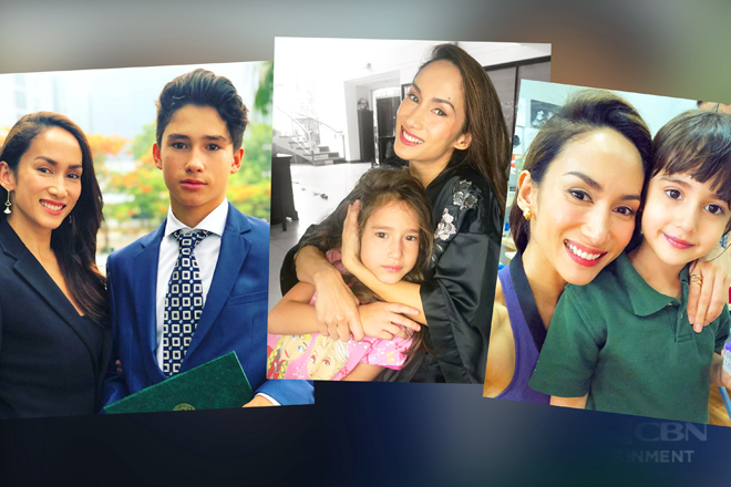 It runs in the fam! Check out Ina Raymundo's photos with her good-looking kids