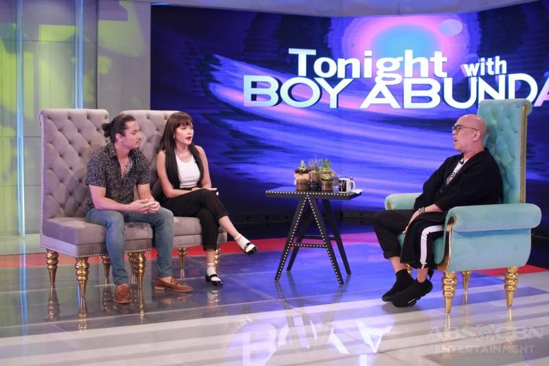 PHOTOS: Bela Padilla and JC Santos on Tonight With Boy Abunda
