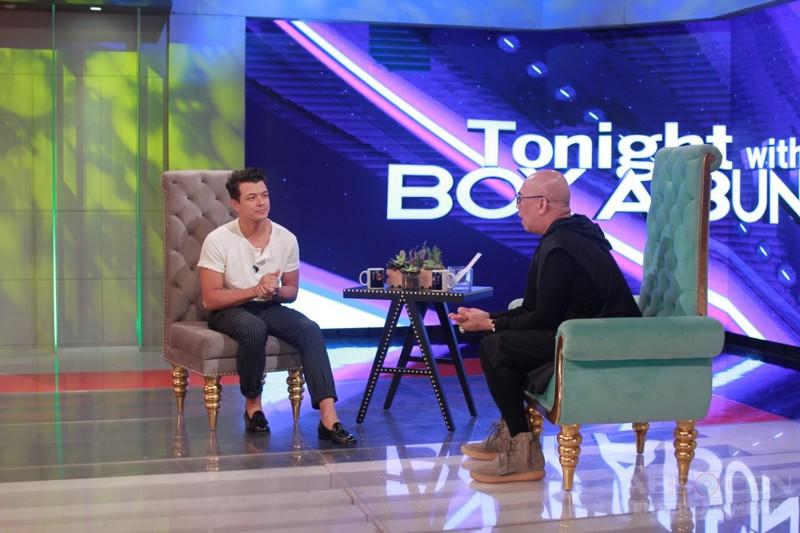 PHOTOS: Jericho Rosales on Tonight With Boy Abunda