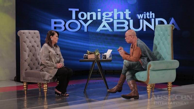 PHOTOS: Tessie Tomas on Tonight With Boy Abunda