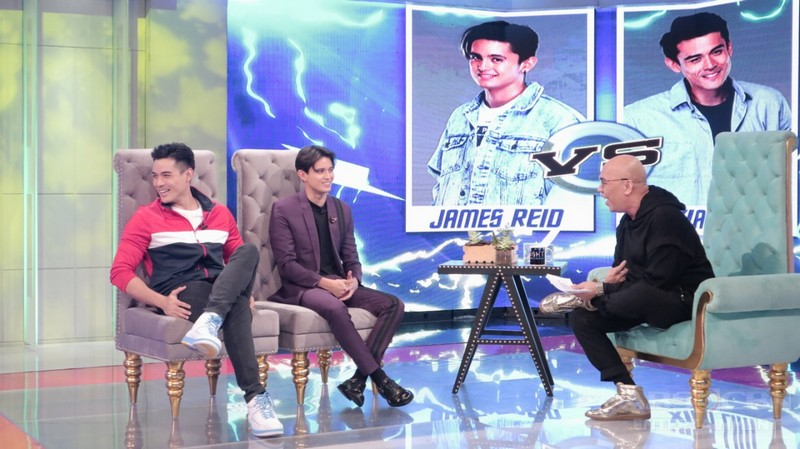 PHOTOS: Xian Lim and James Reid on Tonight With Boy Abunda