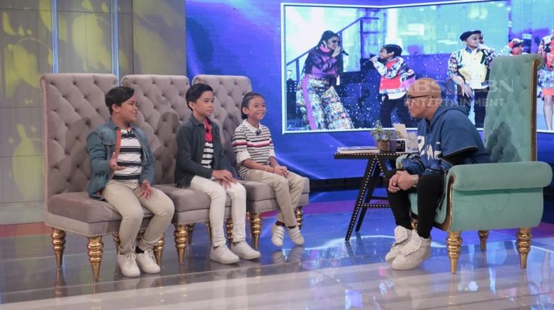 PHOTOS: TNT Boys on Tonight With Boy Abunda