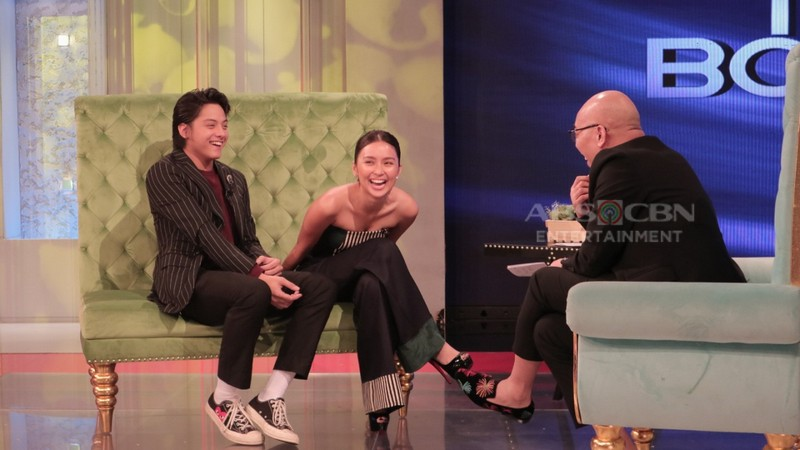 PHOTOS: Kathryn Bernardo and Daniel Padilla on Tonight With Boy Abunda