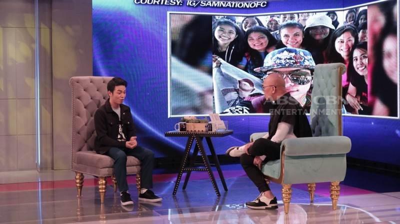 PHOTOS: Sam Mangubat on Tonight With Boy Abunda