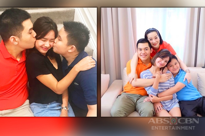 LOOK: 15 Photos of Erich Gonzales spending quality time with The Aquinos!