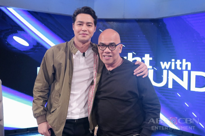 PHOTOS: Zanjoe Marudo on Tonight With Boy Abunda