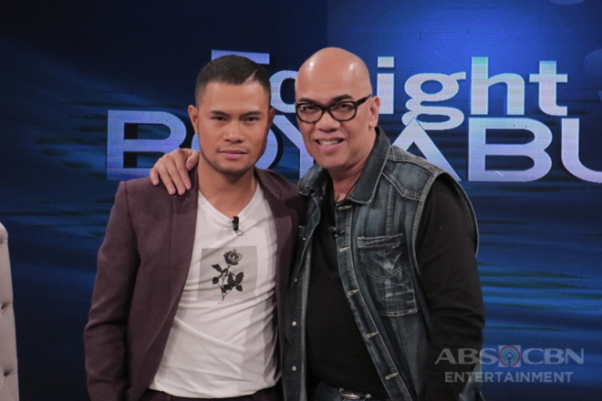 PHOTOS: Bugoy Drilon on Tonight With Boy Abunda