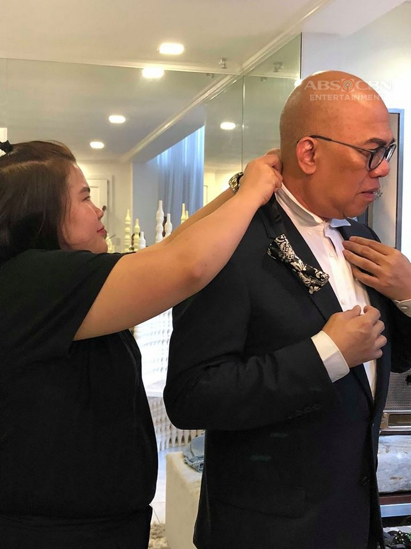 LOOK: Boy Abunda's Suit Fitting for ABS-CBN Ball 2018