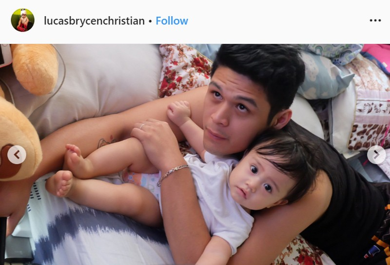LOOK: 25 Photos of Jon Lucas enjoying life as a first-time dad!