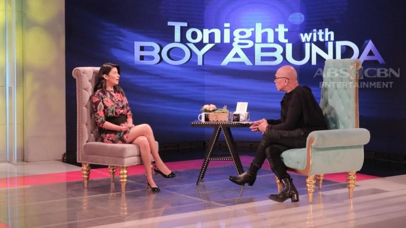 PHOTOS: Assunta De Rossi on Tonight With Boy Abunda