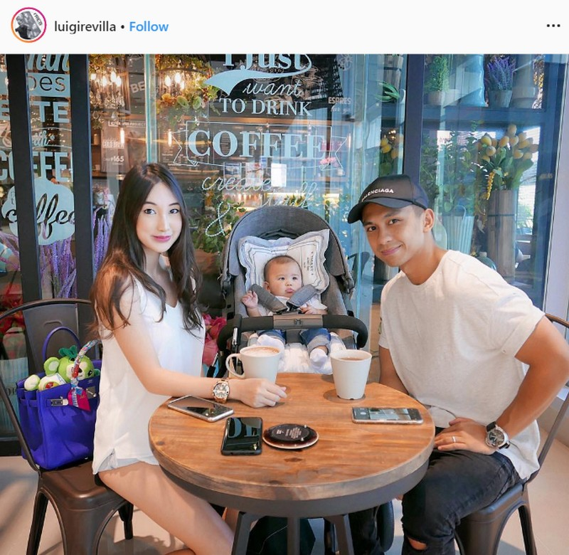 LOOK: 33 Photos of Luigi Revilla with his gorgeous wife and cutie son!