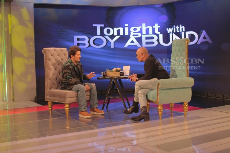 PHOTOS: Janno Gibbs on Tonight With Boy Abunda