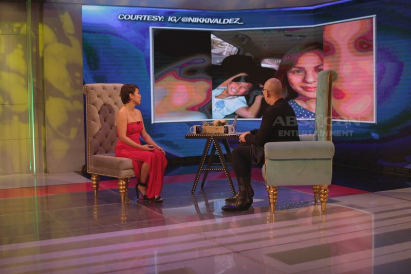 PHOTOS: Nikki Valdez on Tonight With Boy Abunda