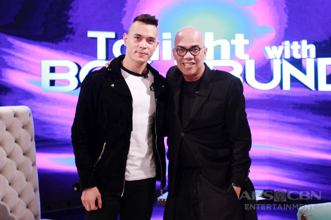 PHOTOS: Jake Cuenca on Tonight With Boy Abunda