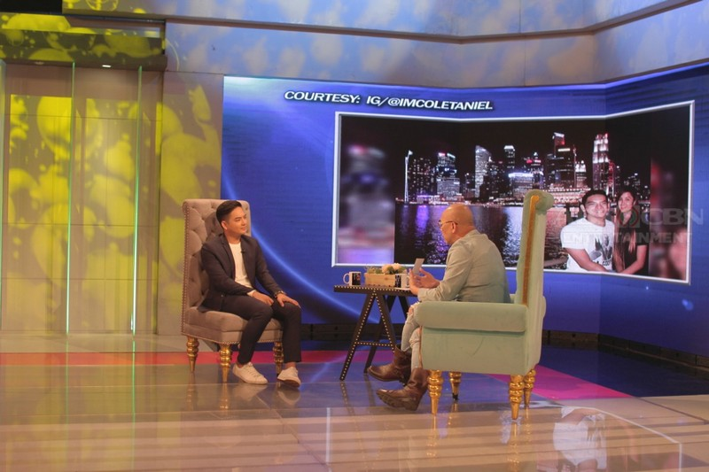 PHOTOS: Neil Coleta on Tonight With Boy Abunda