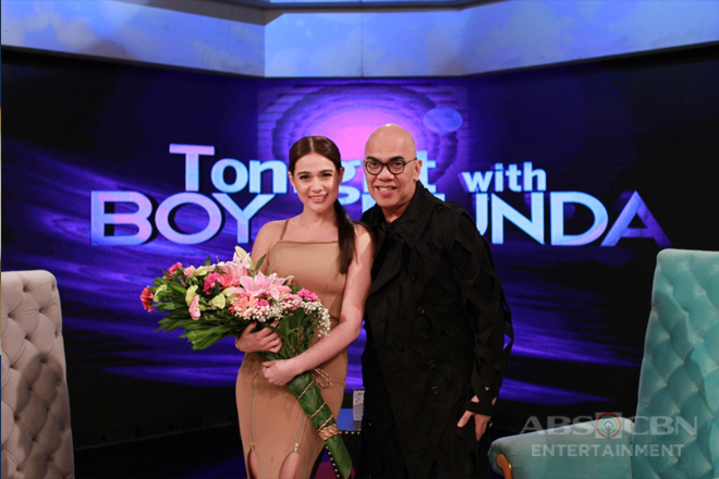 PHOTOS: Bea Alonzo on Tonight With Boy Abunda