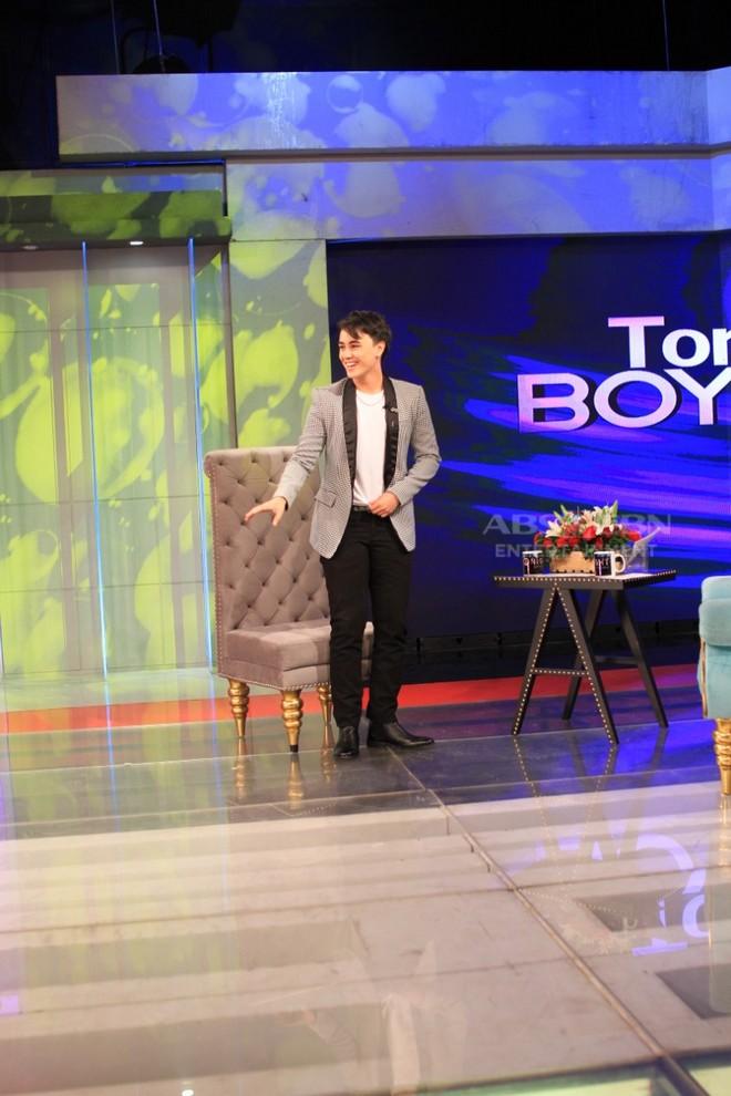 PHOTOS: Edward Barber on Tonight With Boy Abunda