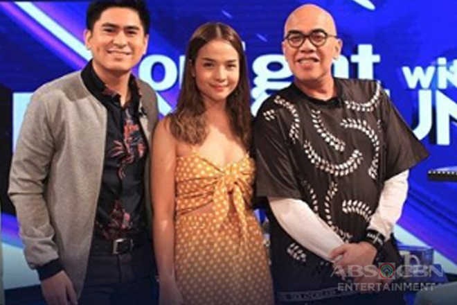 PHOTOS: CJ Navato and Kristel Fulgar on Tonight With Boy Abunda