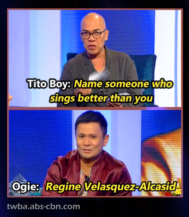 REGINE ALL THE WAY! 14 Times the Asia's Songbird was admired by other celebs on TWBA