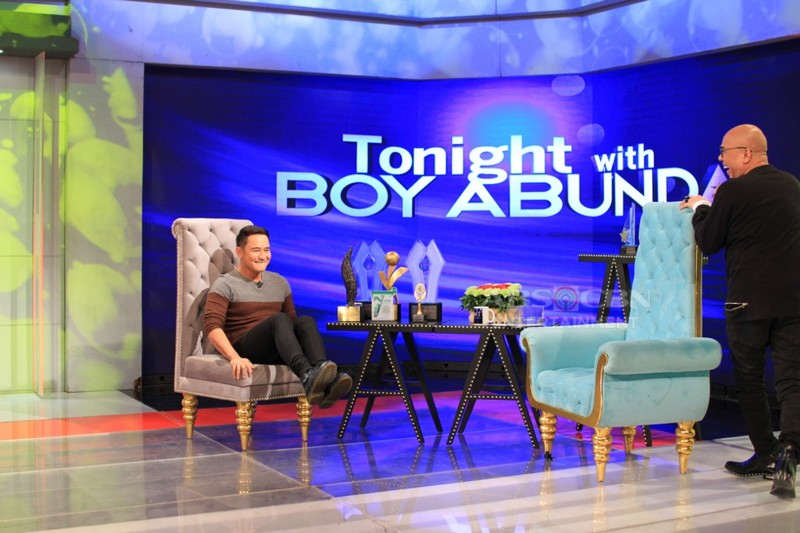 PHOTOS: JM de Guzman on Tonight With Boy Abunda