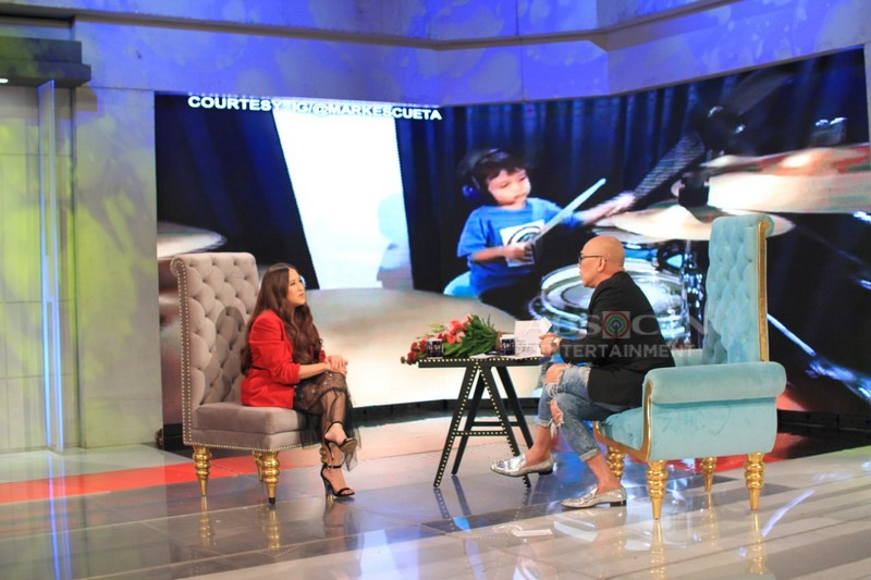 PHOTOS: Jolina Magdangal on Tonight With Boy Abunda